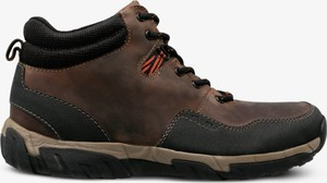 Buty zimowe Clarks sznurowane w sportowym stylu