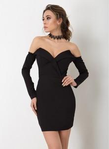 Czarna sukienka Flawdress hiszpanka