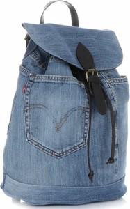 8dab3978a1f0c Plecaki damskie renomowanej firmy vittoria gotti ciemno jeansowe