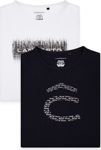 T-shirt LANCERTO z bawełny