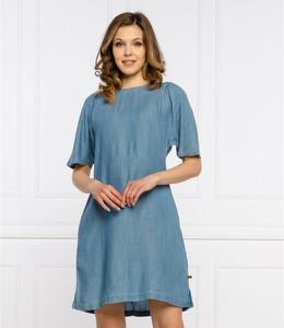 Niebieska sukienka Superdry mini