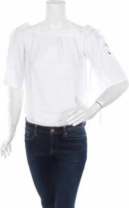 Bluzka Melrose z długim rękawem z okrągłym dekoltem w stylu casual