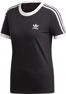 Granatowy t-shirt Adidas Originals