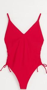 Czerwony strój kąpielowy Cropp w stylu casual