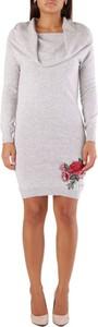 Sukienka Met z długim rękawem mini w stylu casual
