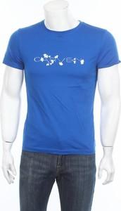 Niebieski t-shirt Carven