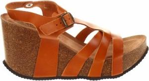 Brązowe sandały Uma