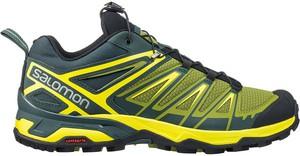 2126d9405a6c Zielone buty trekkingowe Salomon w sportowym stylu