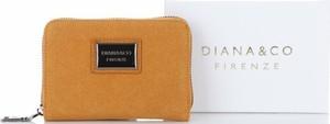 Brązowy portfel Diana&Co