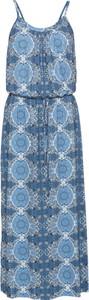 Niebieska sukienka bonprix RAINBOW na co dzień