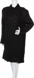 Czarna sukienka Mtwtfss Weekday mini z długim rękawem