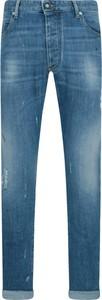 Niebieskie jeansy Emporio Armani w stylu casual