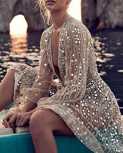Brązowa sukienka Kendallme mini