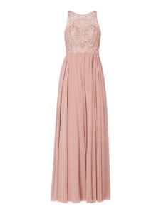 Sukienka Laona z okrągłym dekoltem bez rękawów maxi