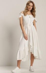 Sukienka Renee maxi hiszpanka z krótkim rękawem