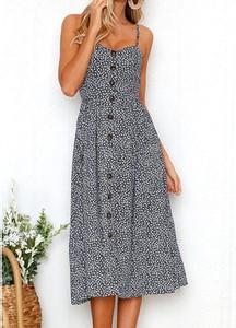 Sukienka Arilook midi w stylu casual
