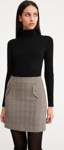 Brązowa spódnica Reserved w stylu casual mini