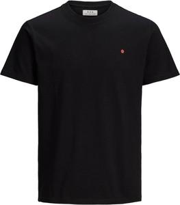 T-shirt Jack & Jones w stylu casual z krótkim rękawem z dżerseju
