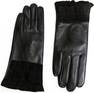 Czarne rękawiczki Allora