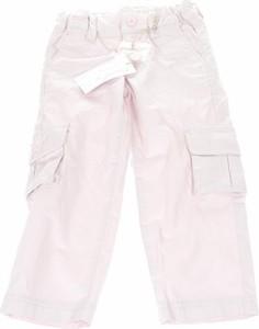 Różowe spodnie dziecięce Chateau De Sable