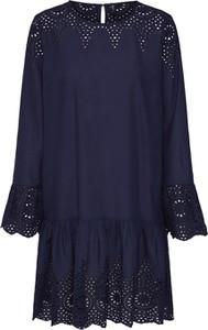 Sukienka Only z długim rękawem z bawełny