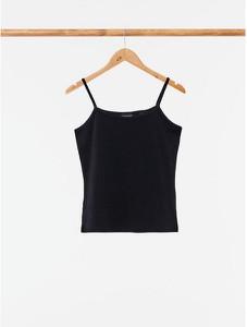 Czarna bluzka Outhorn z okrągłym dekoltem