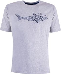 T-shirt ubierzsie.com z krótkim rękawem z tkaniny