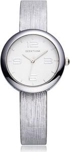 Elegancki zegarek damski GeekThink - srebrny
