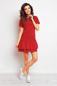 Czerwona sukienka Infinite You mini