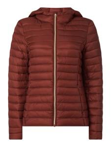 Czerwona kurtka Montego w stylu casual krótka