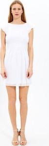 Sukienka Gate z krótkim rękawem z szyfonu