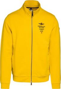 Żółta bluza Aeronautica Militare z bawełny