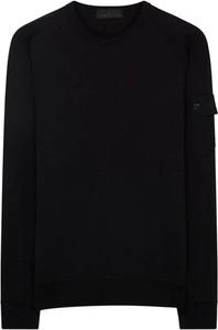 Czarny sweter Stone Island w stylu casual