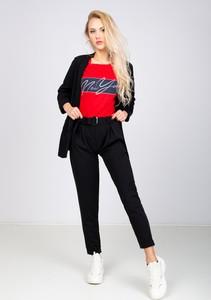Czerwone spodnie Zoio
