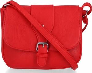 Czerwona torebka Bee Bag ze skóry