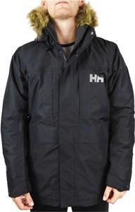 Czarna kurtka Helly Hansen długa w stylu casual