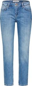 Niebieskie jeansy Scotch & Soda z jeansu w street stylu
