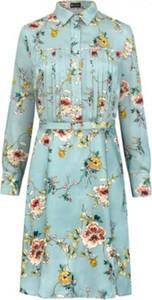 Niebieska sukienka Harmnni
