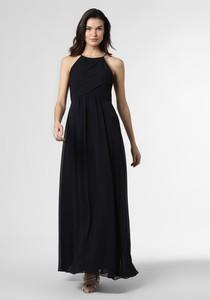 Sukienka Marie Lund z szyfonu maxi z okrągłym dekoltem