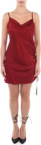 Czerwona sukienka Victoria Beckham mini