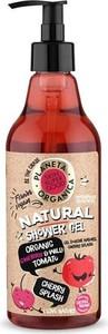 Planeta Organica, Skin Super Good, żel pod prysznic, organic cherry & wild tomato, 500 ml