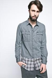 b438b60b20691 koszula jeans koronka - stylowo i modnie z Allani