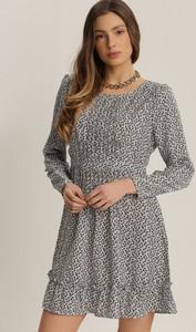 Sukienka Renee w stylu casual z okrągłym dekoltem
