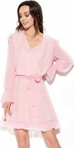 Sukienka Inna z szyfonu mini