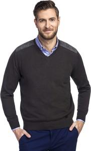 Sweter Giacomo Conti z tkaniny