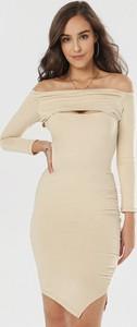 Sukienka born2be w stylu casual z długim rękawem hiszpanka
