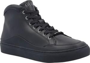 Guess Skórzane sneakersy LARRY