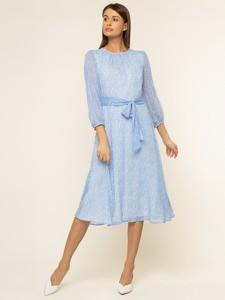 Niebieska sukienka Ralph Lauren