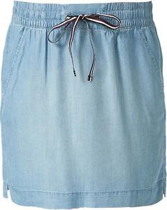 Niebieska spódnica Q/s Designed By - S.oliver mini