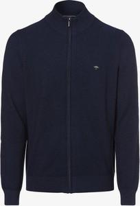Niebieski sweter Fynch Hatton z bawełny